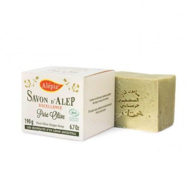 Savon d'Alep – Excellence Pure Olive Bio – Alepia