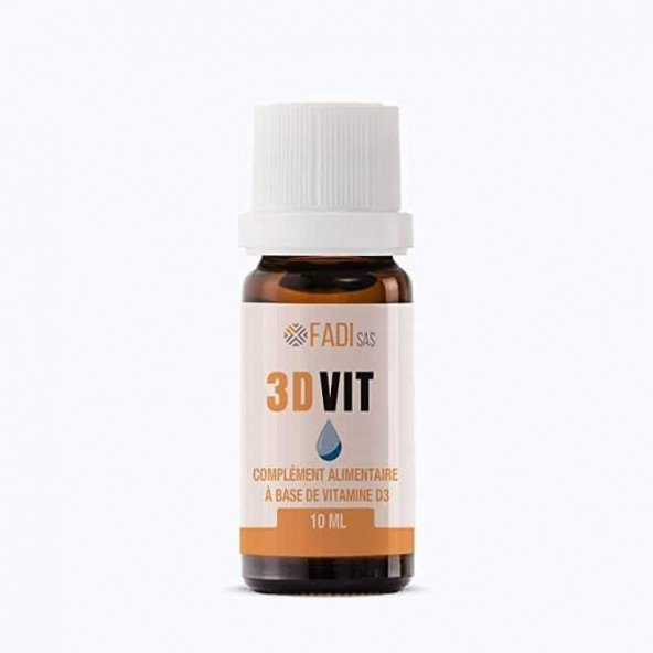 3DVIT – Vitamine D3  en gouttes – FADI