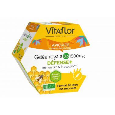 Gelée Royale Bio Défense + Immunité & protection – Vitaflor