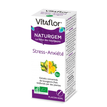 Complexe Stress-Anxiété Bio – Complexe gemmo-phyto – Vitaflor