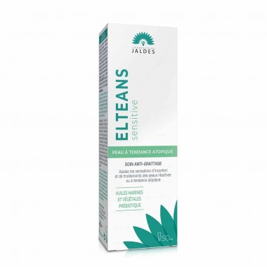 Elteans Sensitive – Tube de 50 ml – Crème Visage et Corps – Jaldes