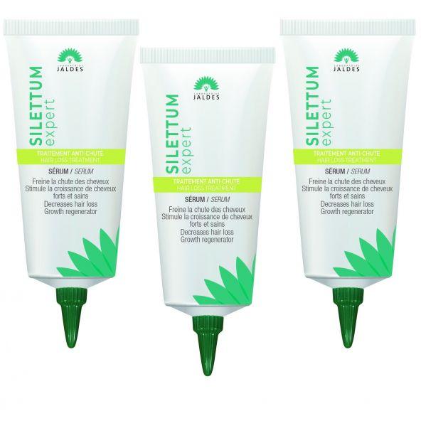 Silettum Expert - Sérum - Traitement antichute Cheveux - Pack 3X40ml