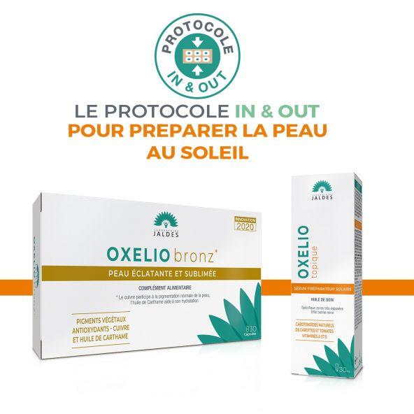 Oxelio Topique - Tube 30 ml - Sérum préparateur solaire