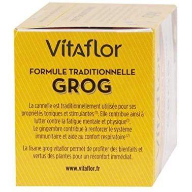 Infusion pour Grog - Boite de 18 Sachets - Formule Traditionnelle