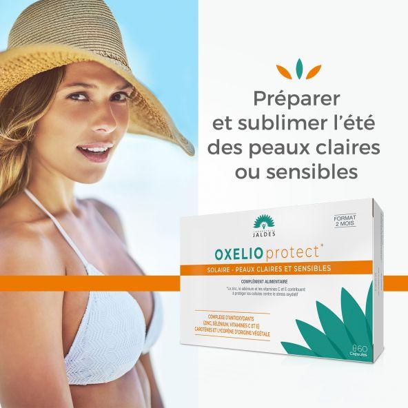 Oxelio Protect – 60 Capsules – Prépare et sublime l'été des peaux claires Jaldes - 3