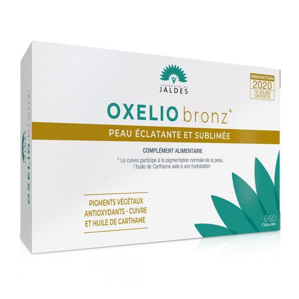 Oxelio Bronz – 60 Capsules – Prépare et sublime l'été des peaux mates Jaldes - 1
