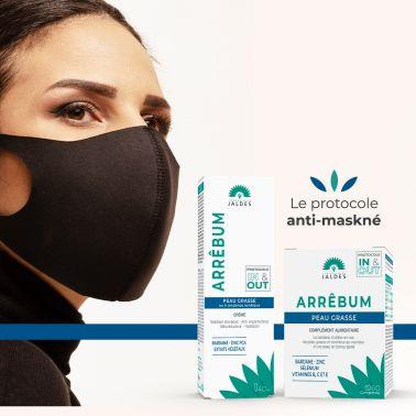 Arrêbum – 60 Comprimés – Peau et Cuir chevelu gras Jaldes - 2