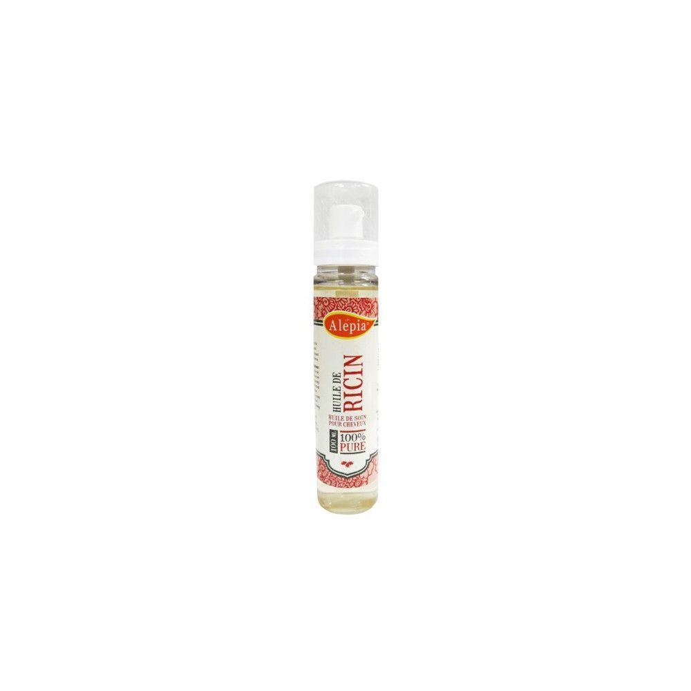 Huile de Ricin bio - Cheveux, cils et ongles - 100ml Alépia - 1