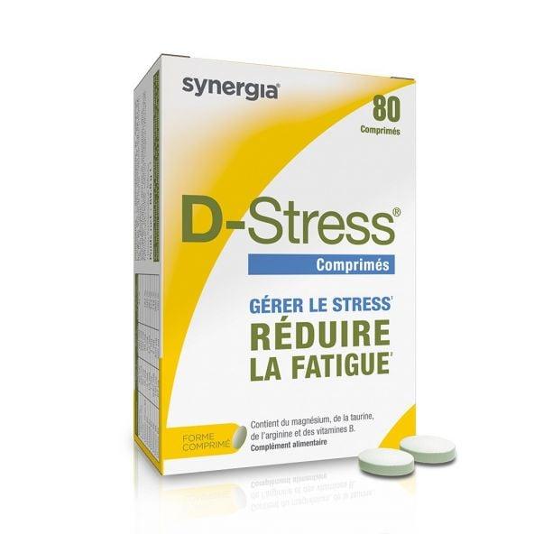 D-Stress – 80 comprimés – Réduit la fatigue Synergia - 1