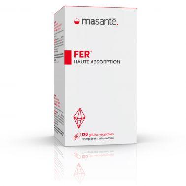 Fer 120 gélules végétales - Haute Absorption - Métabolisme énergétique et réduction de la fatigue Ma Santé - 2