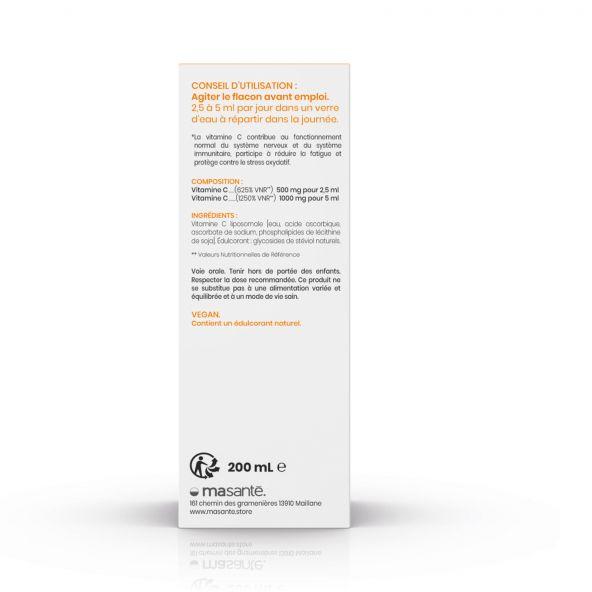 Vitamine C Liposomale liquide - Flacon 200 ml - Haute Absorption Ma Santé - 4