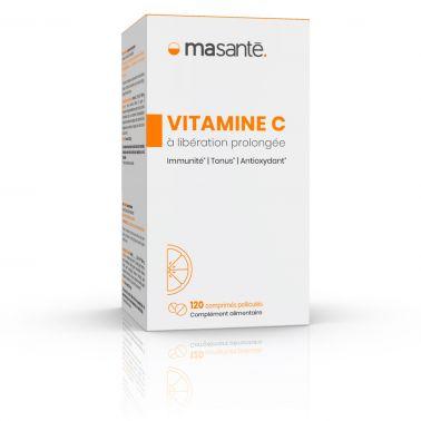 Vitamine C à libération prolongée - 120 comprimés - Immunité, Tonus, Antioxydant Ma Santé - 2