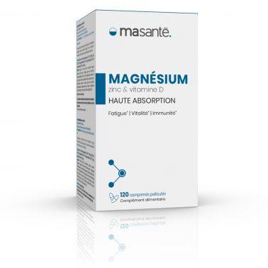 Magnésium 120 comprimés - Haute Absorption - Triple Action: Réduire la Fatigue - Vitalité - Immunité Ma Santé - 2