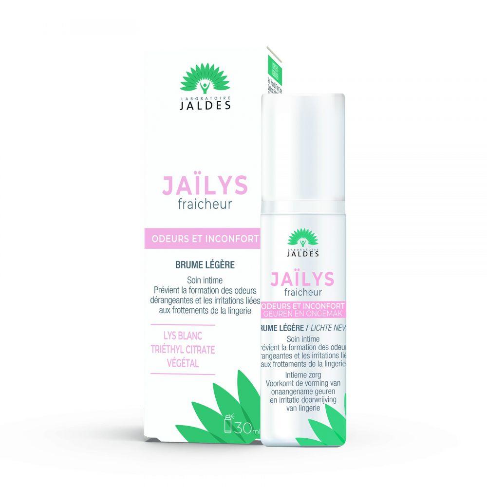 Jaïlys Fraicheur – Brume 30 ml – Odeurs intimes dérangeantes – Jaldes