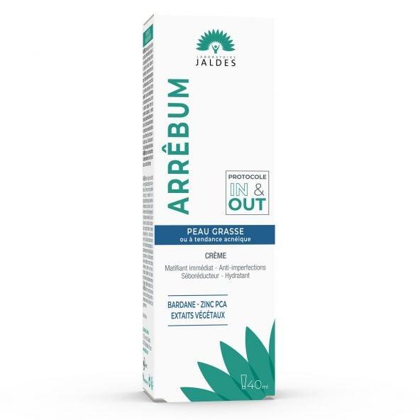 Arrêbum - Crème 40 ml - Peau grasse et/ou à tendance acnéique