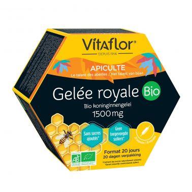 Gelée Royale Bio 1500 mg – Offre spéciale – Vitaflor