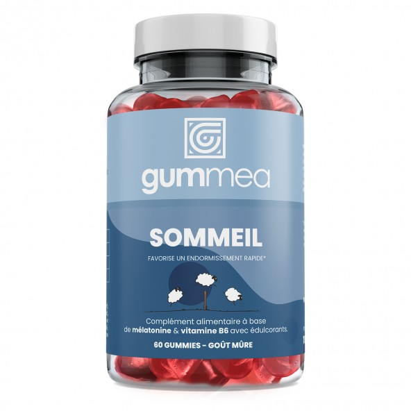 Gummies Sommeil - 60 Gommes - Réduire le Temps d'Endormissement