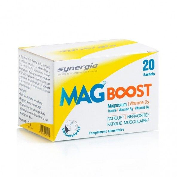 MagBoost orodispersible – Synergia